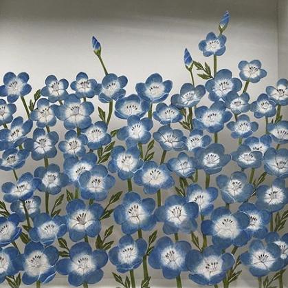 紙の花屋 etre fleur bleue